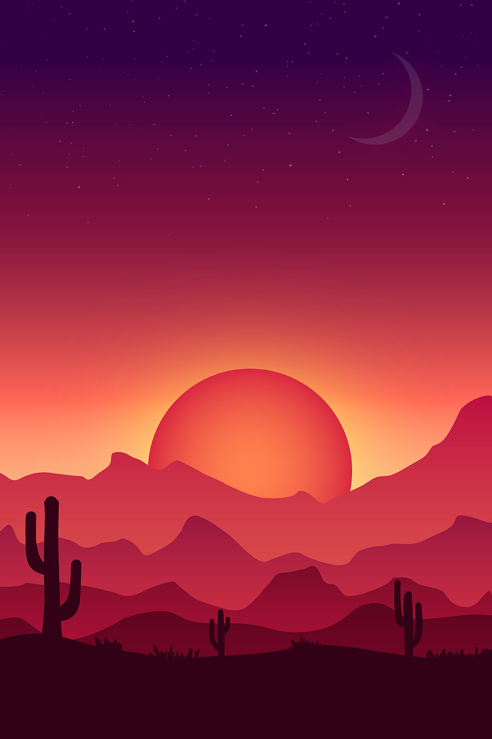 How To Create A Colorful Vector Landscape Illustration In Today's Adobe  Illustrator