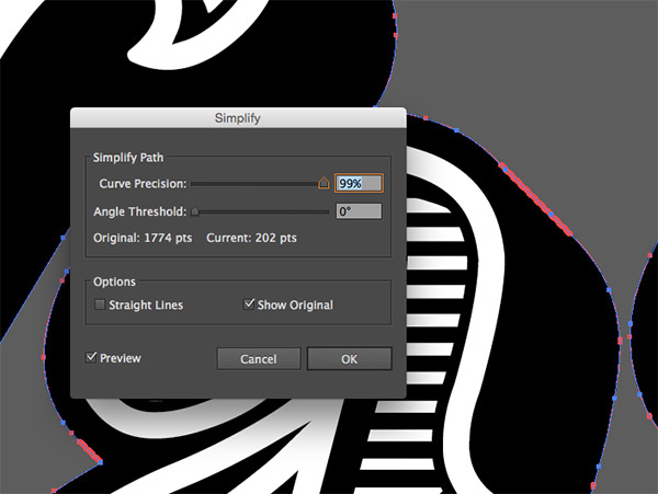 how to put a shadow behind text in illustrator
