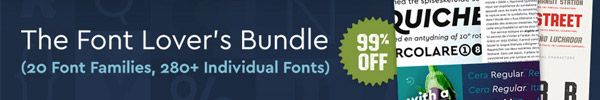 This Bundle of 20 Exceptional Font Families at 99% Off is a Dream Come True for Font Lovers!
