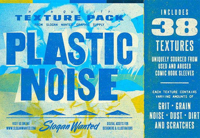 Plastic Noise Texture Pack
