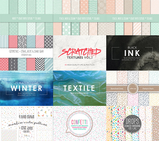The Colossal Textures and Patterns Bundle