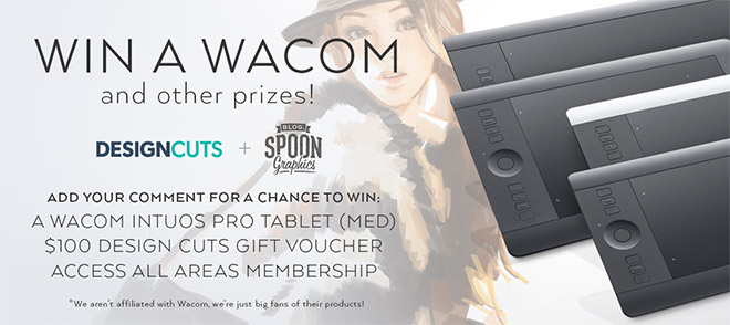 Win a Wacom Graphics Tablet