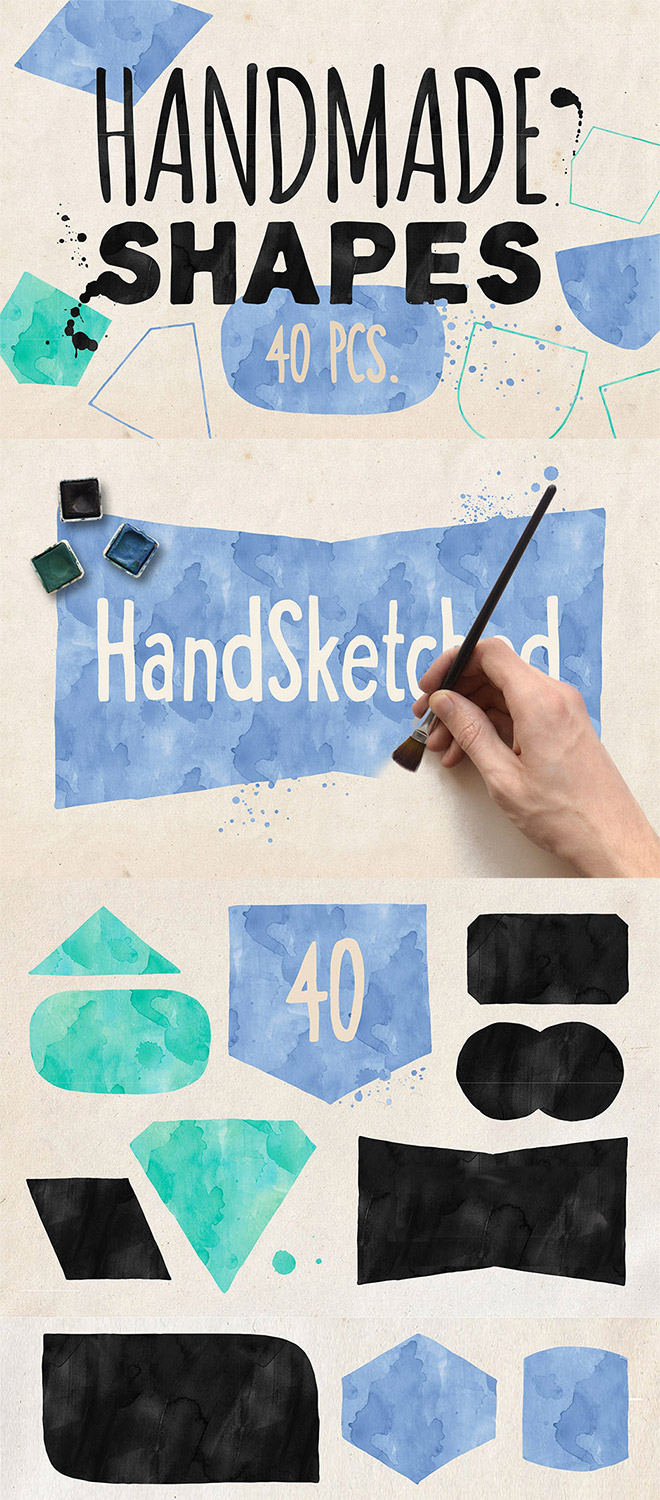 Hand-drawn Vector Shapes
