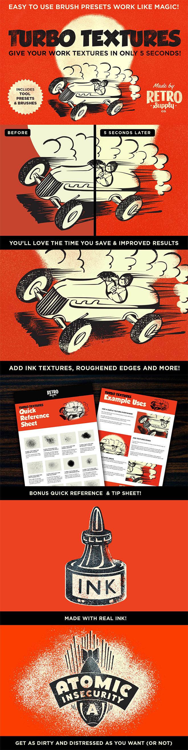 Turbo Textures – 5 Second Textures