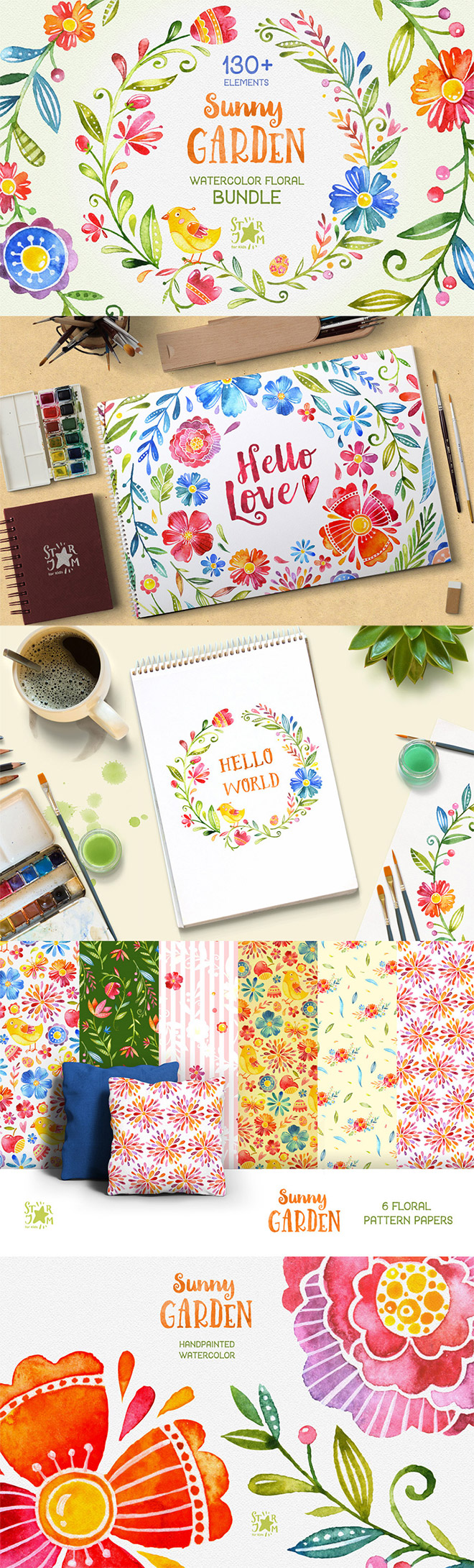 Sunny Garden – Floral Bundle