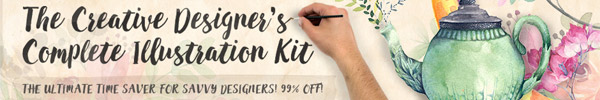 A Huge Time Saving Illustration Kit for Savvy Designers