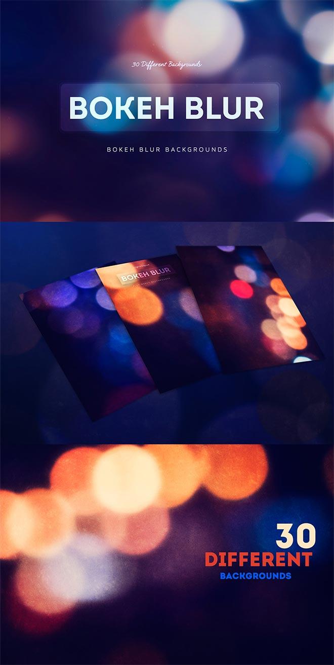 30 Bokeh Blur Backgrounds