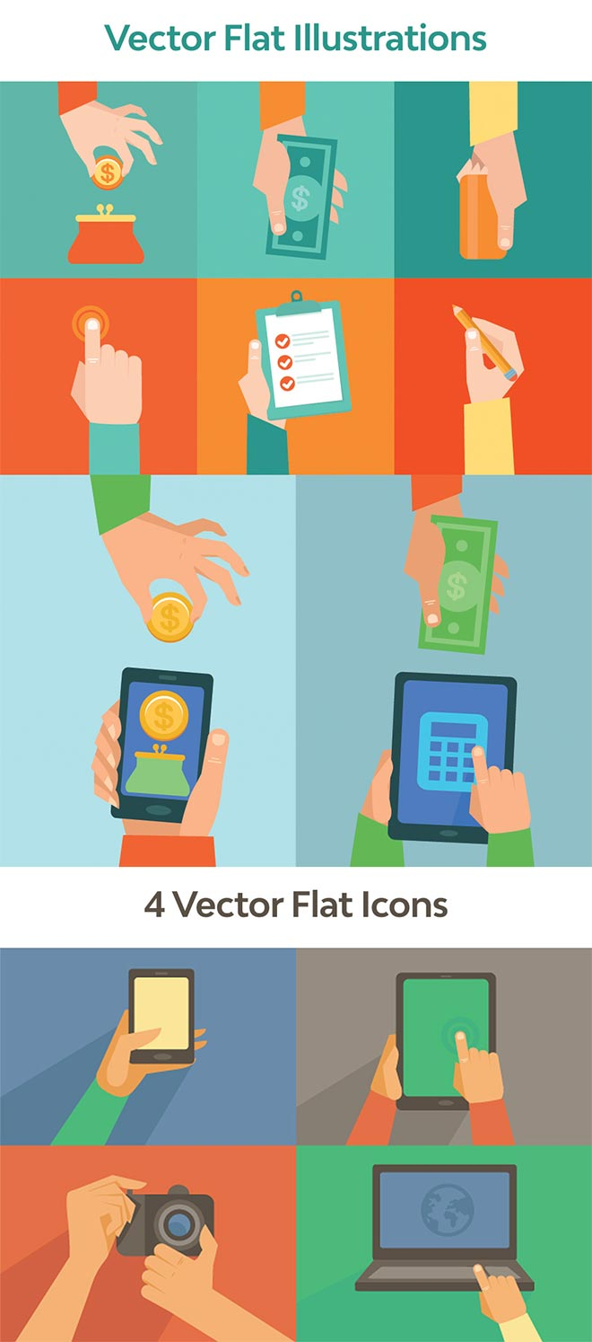 Vector Flat Illustrations