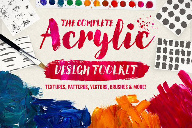 The Complete Acrylic Design Tookit