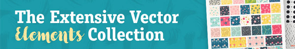 Work Faster and Smarter with this Extensive Vector Elements Collection