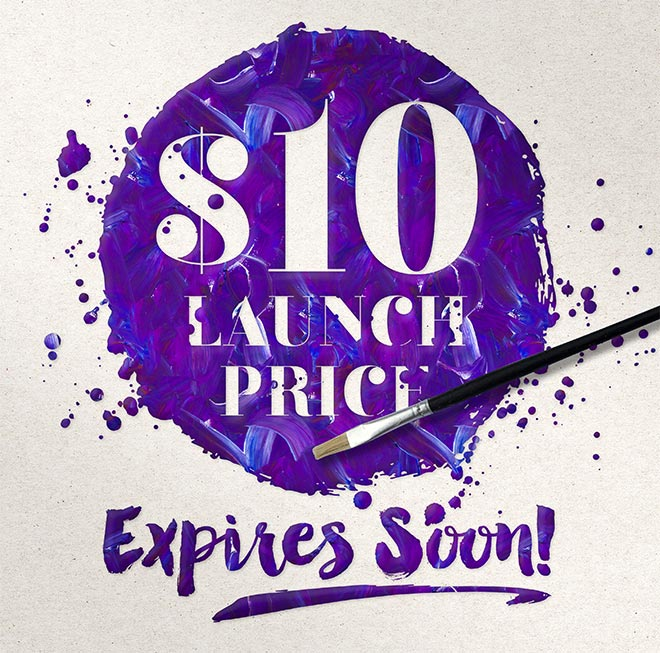 $10 Launch Price Ending Soon!