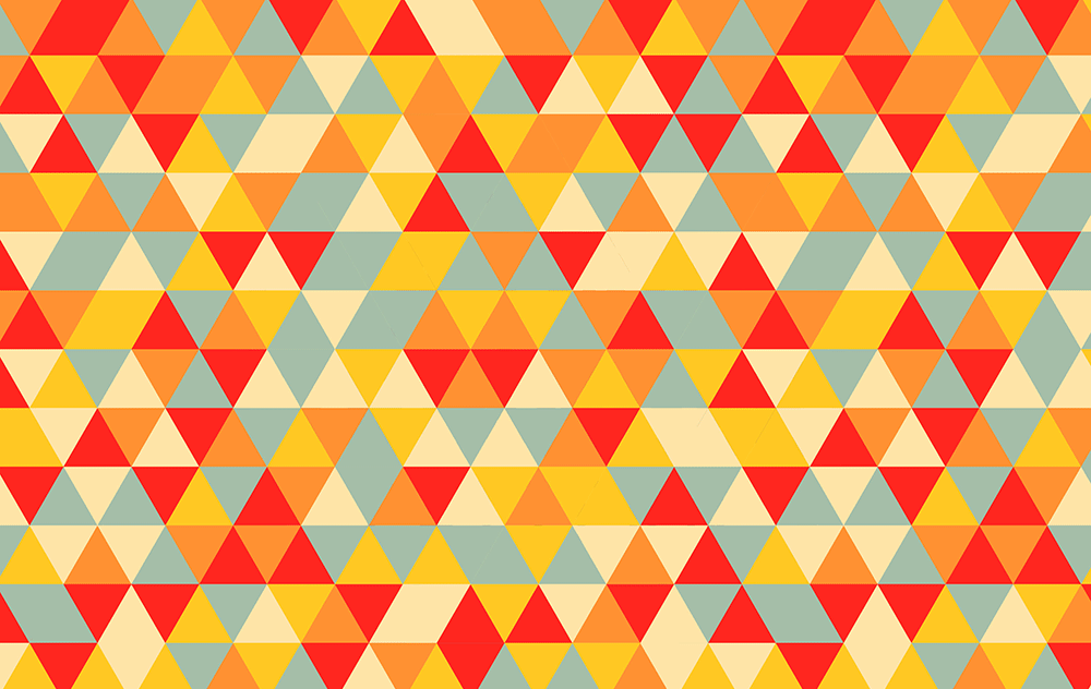 Video Tutorial Retro Triangle Pattern In Adobe Illustrator Mesmerizing Illustrator Pattern