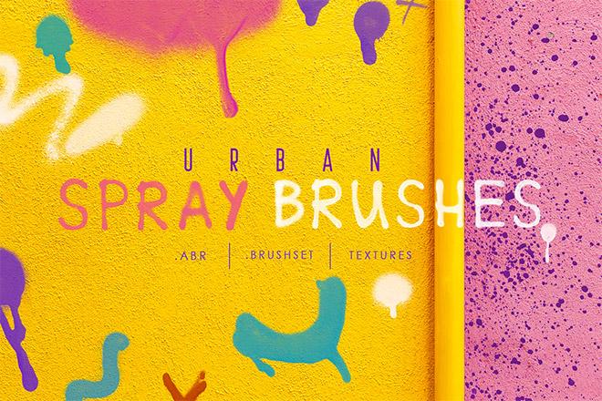 Procreate & Photoshop Urban Spray Brushes