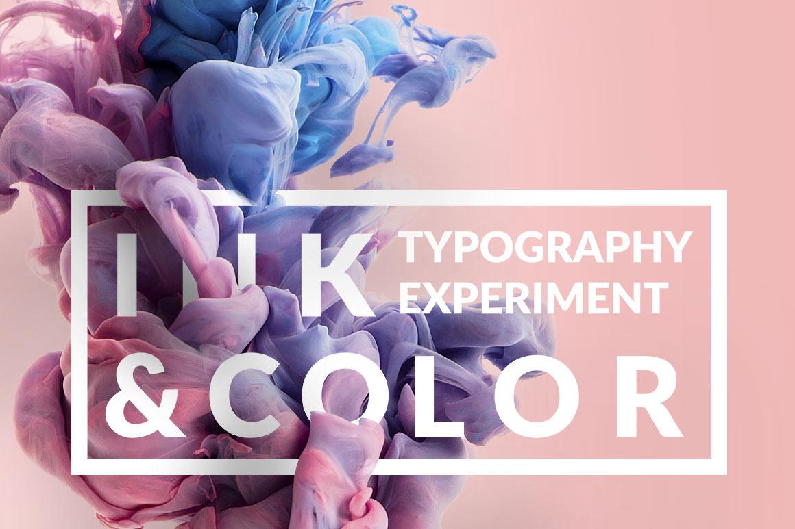 ink typography design template for premium members