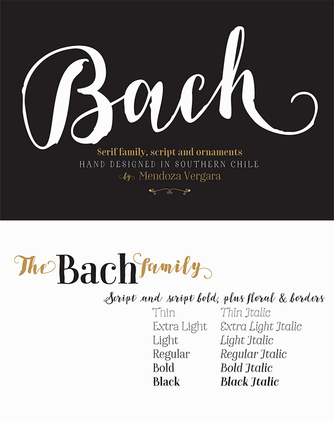 Bach Complete Family