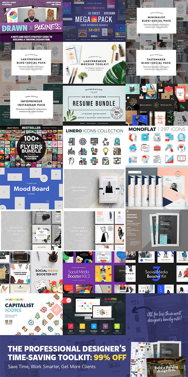 The Professional Designers Toolkit
