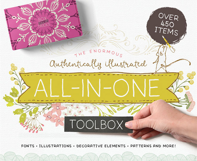 The Enormous Authentically Illustrated All-In-One Toolbox