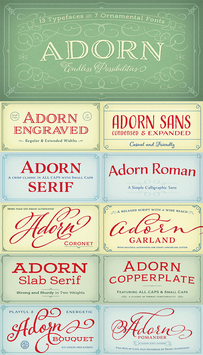 Adorn Complete Family