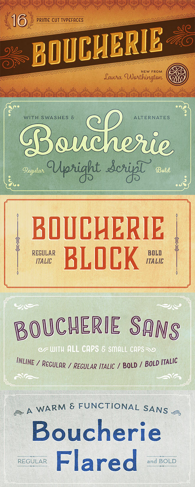 Boucherie Complete Family