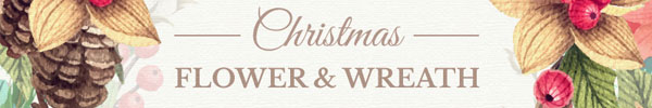Christmas Flower & Wreath Collection for Premium Members