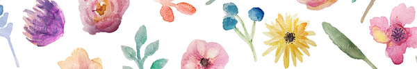 Go Floral! Watercolor Clip Art Set for Access All Areas Members
