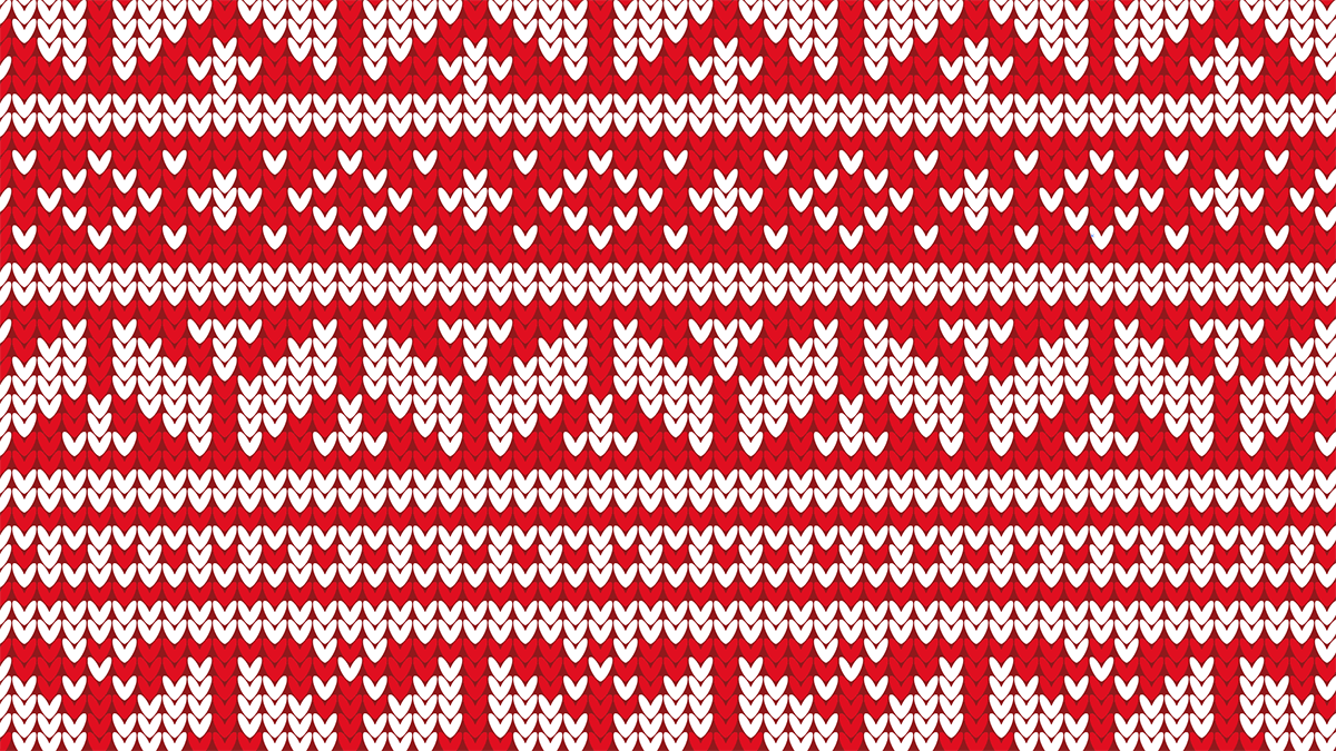 28acf14de Video Tutorial  Christmas Jumper Pattern in Illustrator