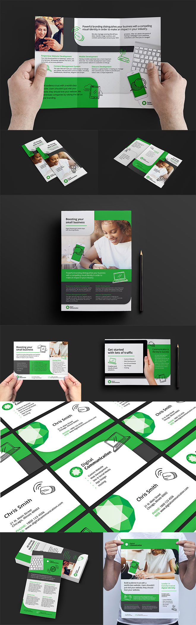BrandPacks Web Design Series
