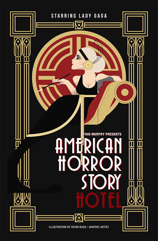 American Horror Story by Kevin Ruda