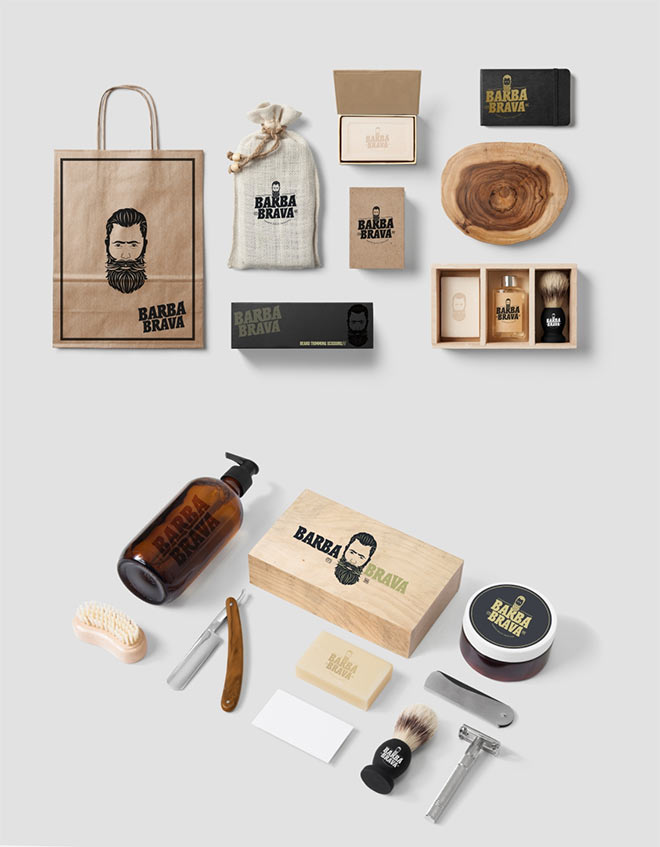 Barba Brava Branding by Pixel Graphix