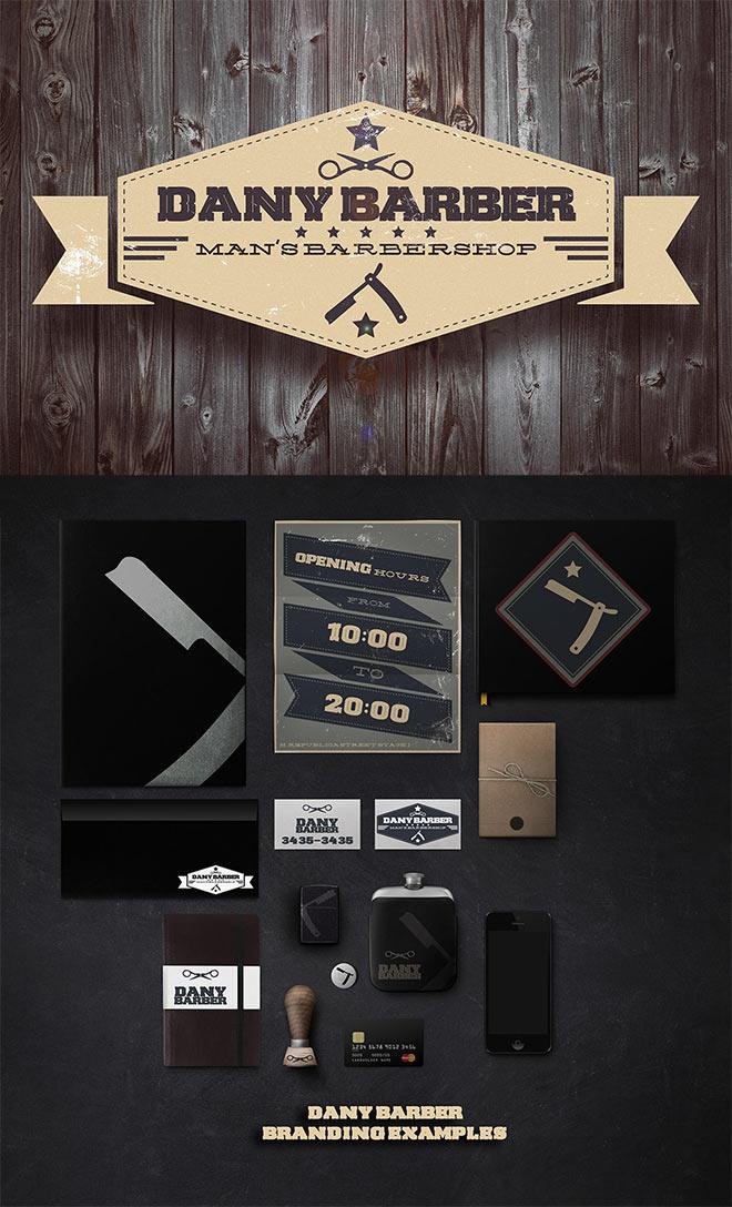 Dany Barber Man's Barbershop by Daniel Gusev