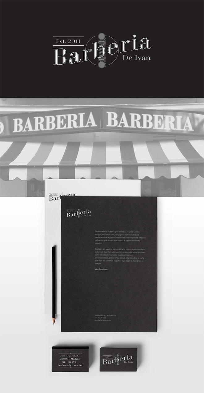 Barberia Branding by Miguel Gamba