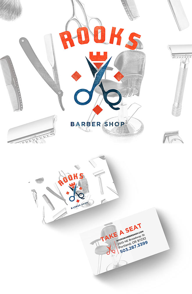 Rooks Barber Shop by Jessica Elliott