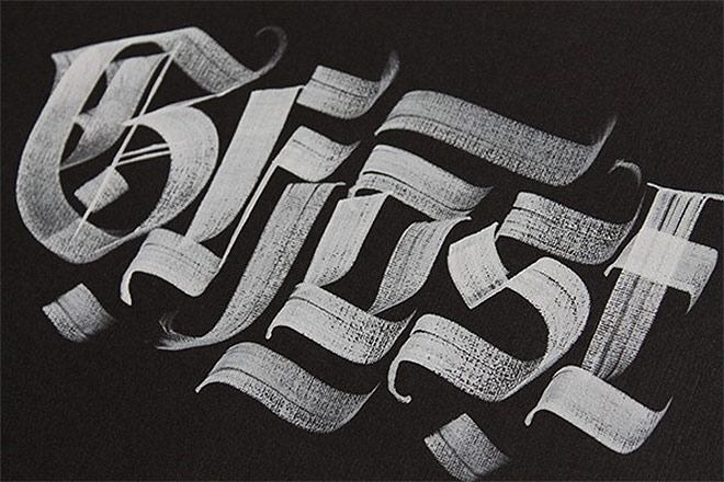 Calligraphy Works by Andrey Martynov
