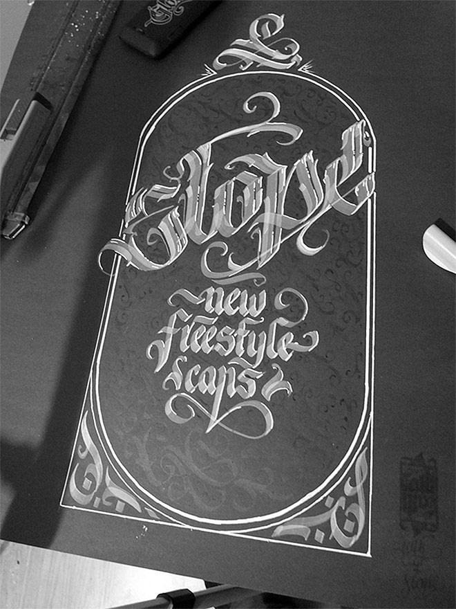 Calligraphy Pack by Mateusz Wolski