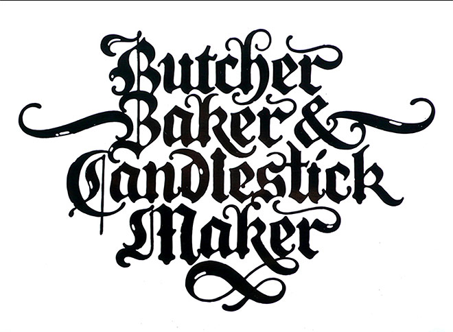 Blackletter Scripts by David Quay