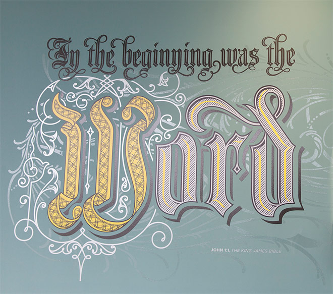 In the beginning was the Word by Bobby Haiqalsyah