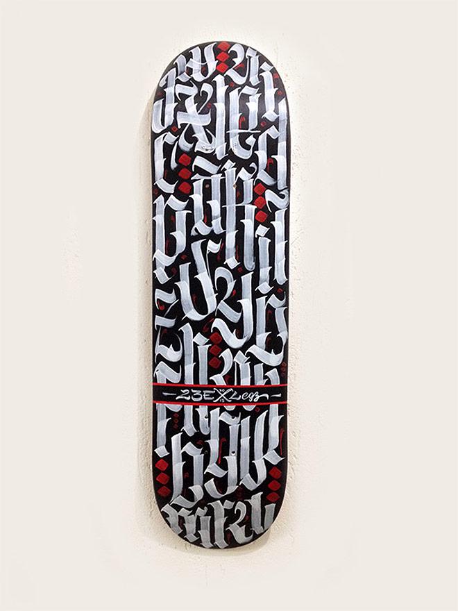 Custom Skateboard by Luis Garcia