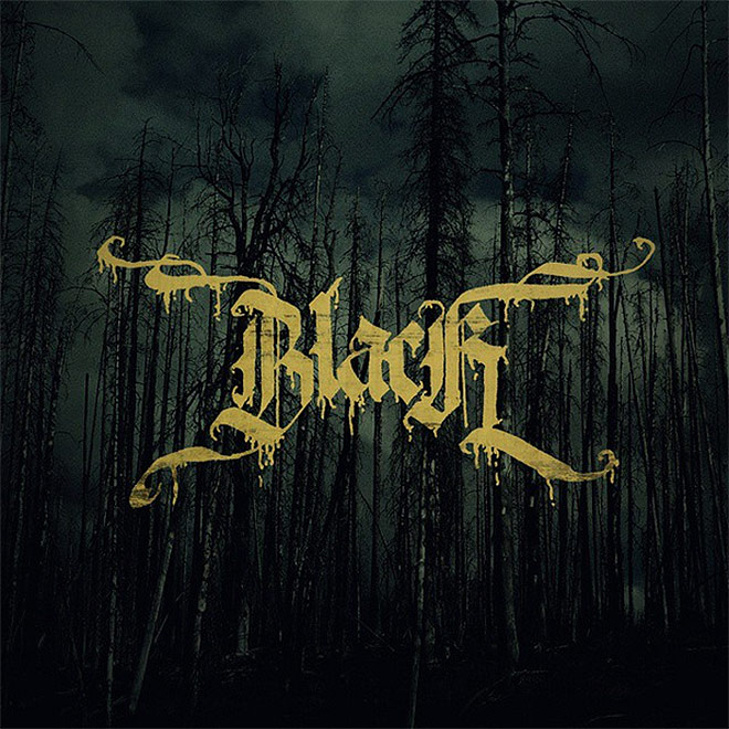 Blackletter Metal Calligraphy by GRS