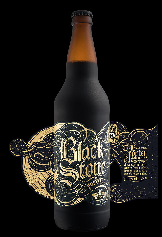 Blackstone Porter by Hired Guns Creative