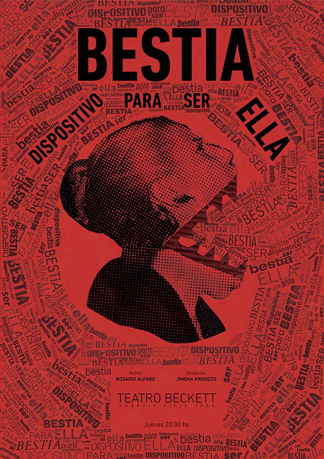 Afiche / Bestia by Manuel de la Torre