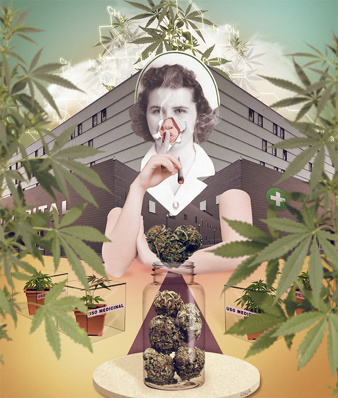 Cannabis Medicine by RNDR Martinez