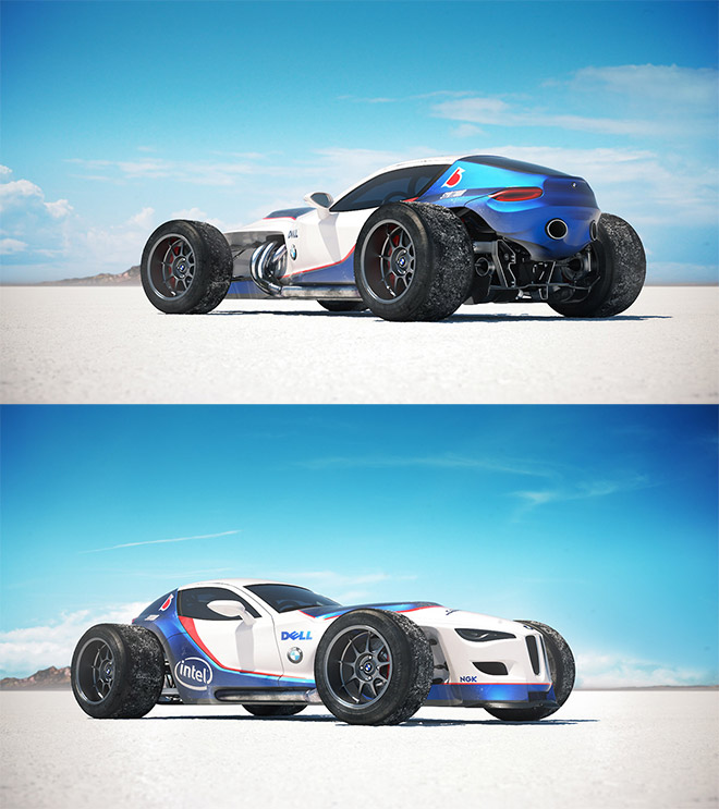 BMW Formula Concept by Andreas Ezelius