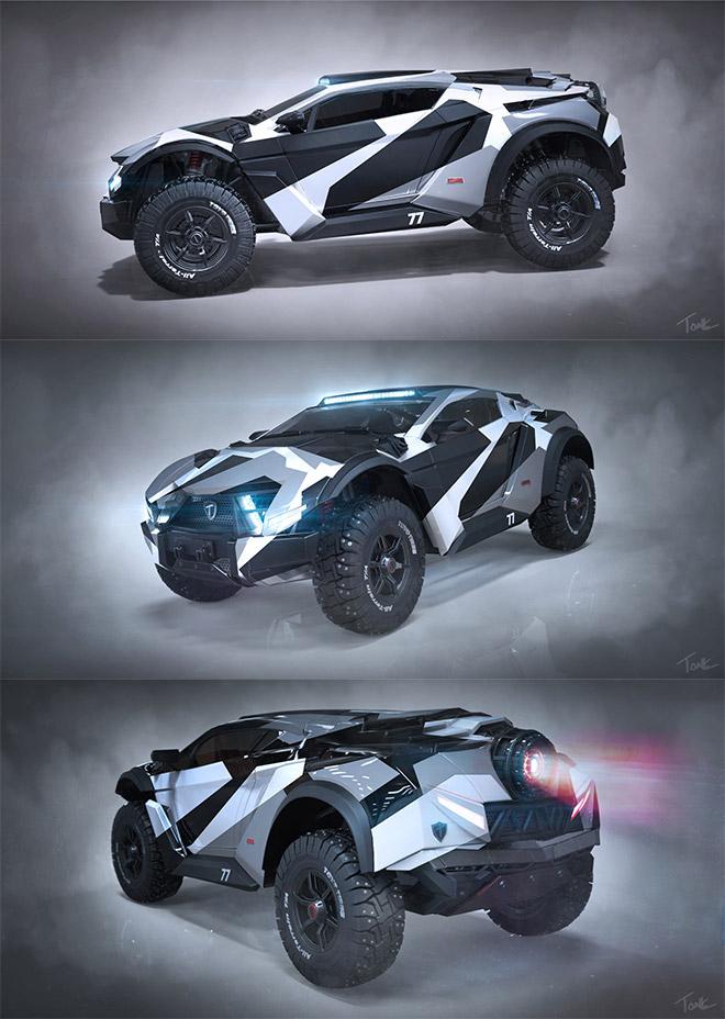 Bronco Crossover SUV by Jason Tonks