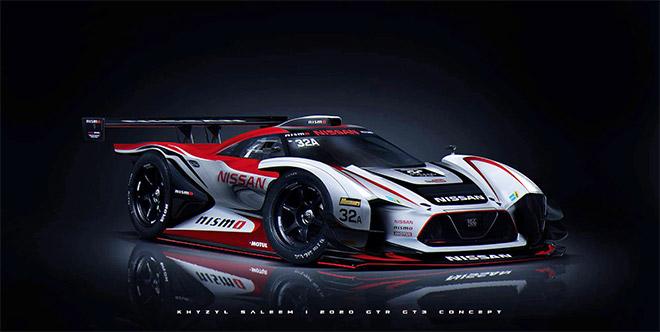 Nissan VGT GT3 Concept by Khyzyl Saleem