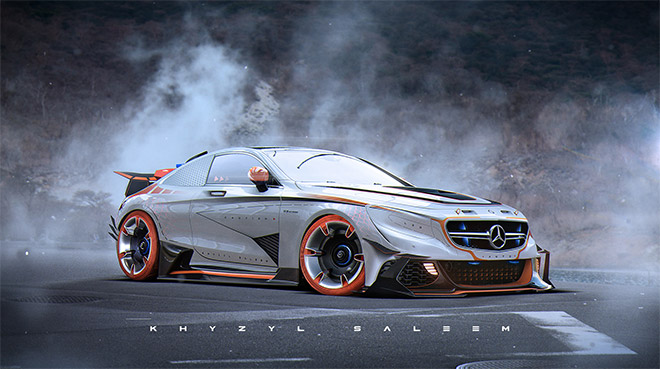 Cyber S63 by Khyzyl Saleem