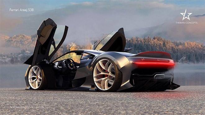 Ferrari Concept AREEJ 538 by mcmercslr