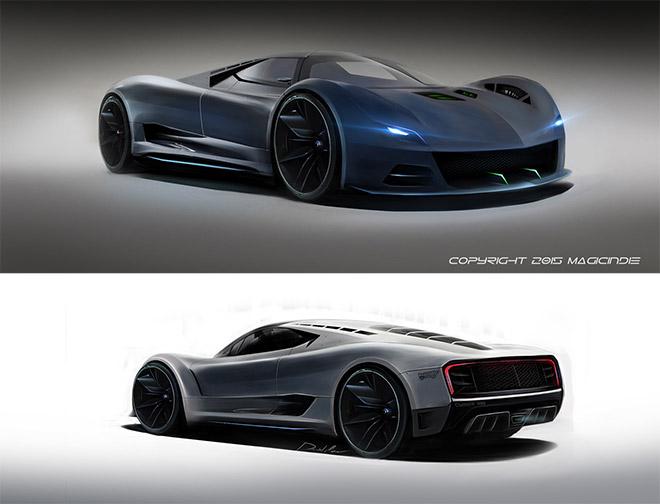 Phantom 2V by Daniel Modringa