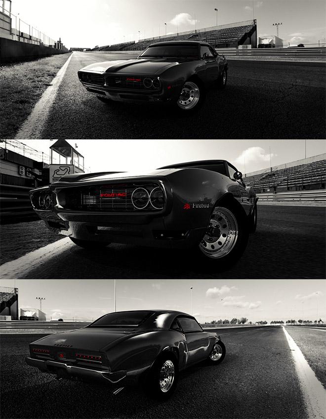Pontiac Firebird Blackbird GT Edition by Simon Waloszek