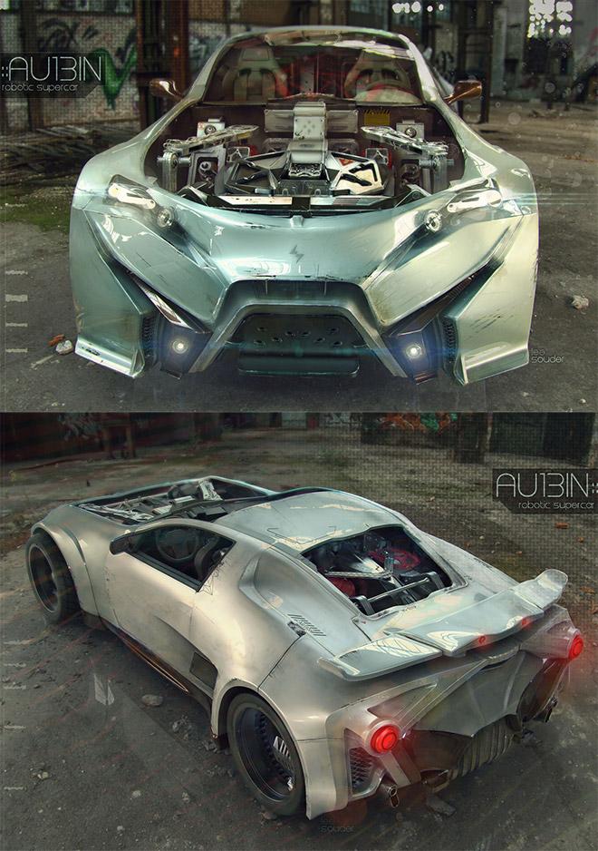 AU13IN Supercar by Lee Souder