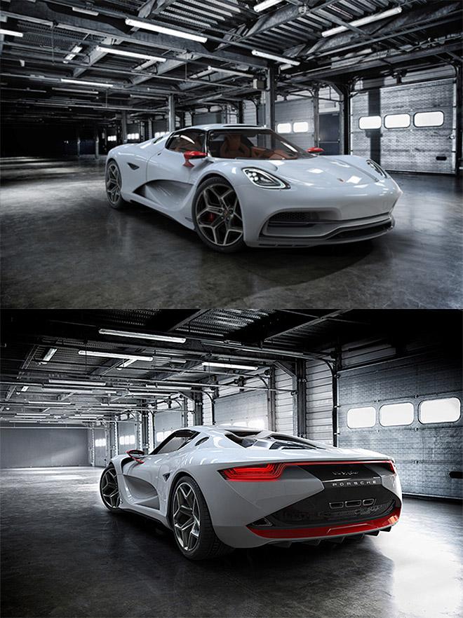 Porsche Concept by Rene Garcia